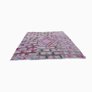 Großer Vintage Kilim Teppich