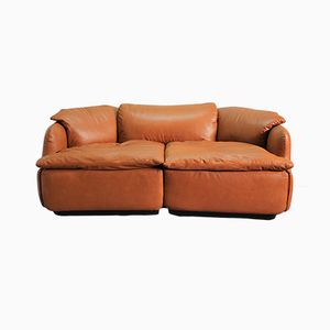 Confidential Sofa von Alberto Rosselli für Saporiti, 1970er