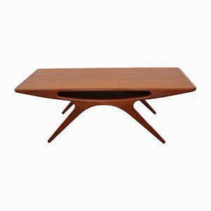 Smile Coffee Table by J. Andersen for Silkeborg, 1960s