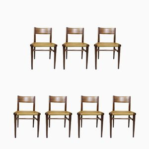 Vintage Dining Chairs by Georg Leowald for Wilkhahn, Set of 7