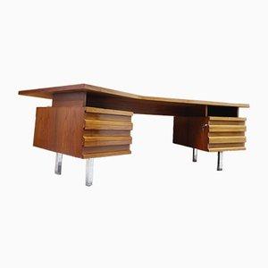 Deutscher Vintage Schreibtisch in Bumerang-Optik, 1970er
