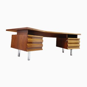 Vintage German Boomerang Desk, 1970s