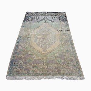 Handgefertigter türkischer Vintage Teppich
