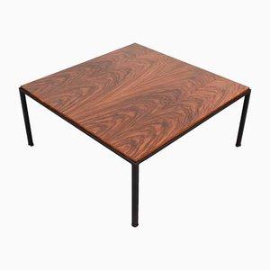 Mid-Century Italian Rosewood & Iron Coffee Table, 1960s