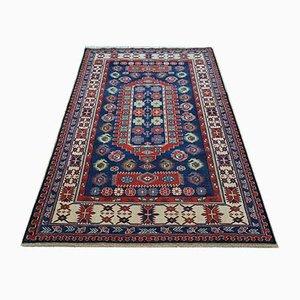 Blauer Vintage Shirvan Teppich