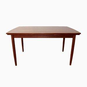 Table de Salle à Manger Scandinave Vintage en Teck par Johannes Andersen pour KS Møbler