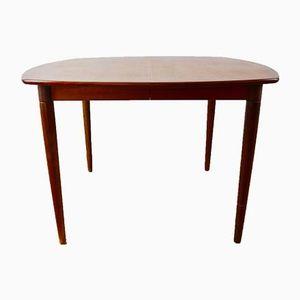 Scandinavian Teak Dining Table by Henry Walter Klein, 1960s