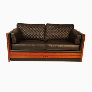 Vintage Art Deco Sofa, 1988