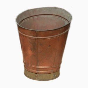 Vintage Eimer aus Kupfer, 1960er