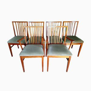 Walnut Dining Chairs from Vanson, Set of 6