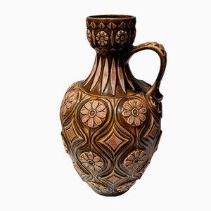 Bodenvase aus Keramik von Bodo Mans für Bay Keramik, 1970er