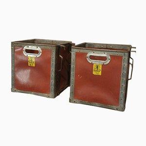 Cajas vintage de Suroy, años 60. Juego de 2