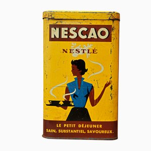 Vintage Nescao Schachteln, 1930er, 2er Set
