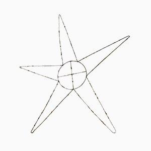 Estrella de metal decorado, años 30