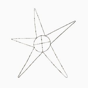 Metal Decoration Star, 1930s