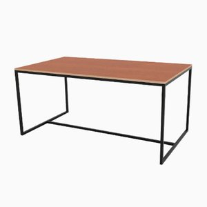 Underline Cherry Veneered Dining Table from CRP.XPN