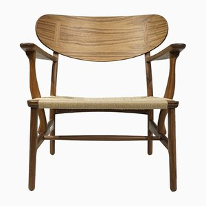 CH22 Stuhl von Hans J. Wegner für Carl Hansen & Søn, 1950er