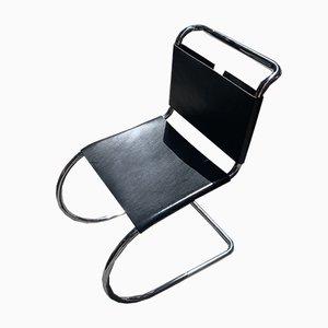 Silla auxiliar vintage de Ludwig Mies Van Der Rohe para Knoll, años 60