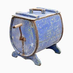 Mobiletto per lavare a mano antico in legno, Svezia, inizio XIX secolo