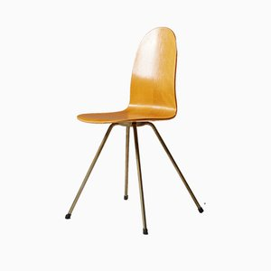 Sedia The Tongue di Arne Jacobsen per Fritz Hansen, 1955