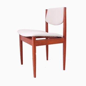 Modell 197 Esszimmerstühle von Finn Juhl für France & Son, 1960er, 4er Set
