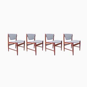 Modell 4510 Stühle von Ib Kofod Larsen für G-Plan, 1960er, 4er Set