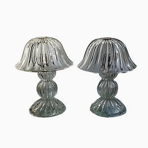 Glass Table Lamps from Seguso, 1950s, Set of 2