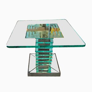 Vintage Low Table by Pietro Chiesa for Brusotti, 1930s