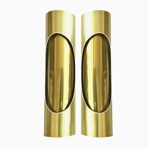 Tubular Sconces from S.L. Marca, 1970s, Set of 2