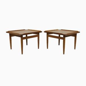 Tables d'Appoint par Kurt Østervig pour Jason Møbler, 1950s, Set de 2