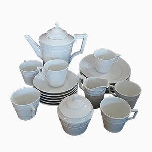 Vintage 21-Piece Coffee Service from KPM Berlin