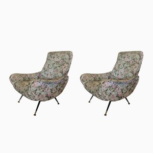 Vintage Armchairs, 1950s, Set of 2
