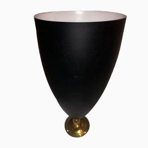 Applique regolabile in ottone e metallo di Stilnovo, Italia, anni '50