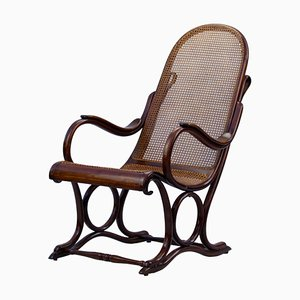 Bentwood No. 1 Easy Chair by Michael Thonet for Gebrüder Thonet Vienna GmbH, 1890s