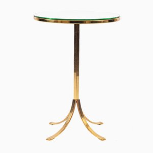 German Regency Mirrored Side Table, 1950s