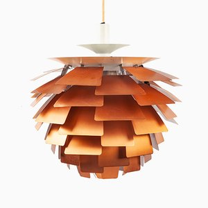 Copper PH Artichoke Pendant Lamp by Poul Henningsen for Louis Poulsen, 1960s