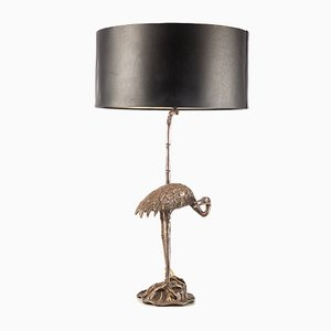 Hollywood Regency Crane Table Lamp from Maison Charles, 1950s