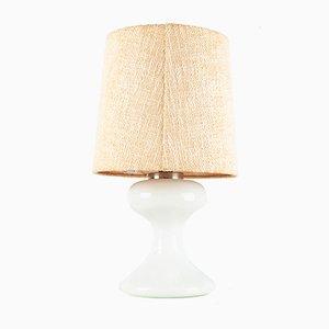 Lámpara de mesa ML1 de cristal de Murano blanco de Ingo Maurer, años 70