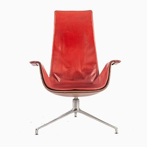 Tulip Chair von Preben Fabricius & Jørgen Kastholm für Kill International, 1960er