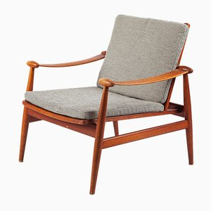 Spartan Lounge Chair by Finn Juhl for France & Daverkosen, 1960s