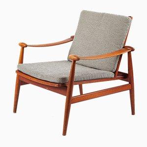 Spartan Sessel von Finn Juhl für France & Daverkosen, 1960er