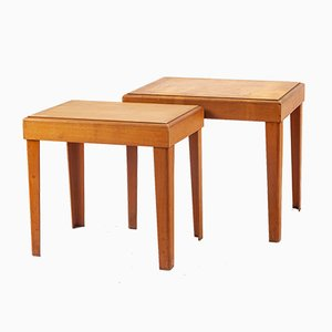 German Plywood Nesting Tables from Raak, 1940s