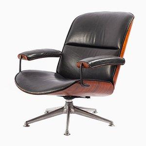 Chaise de Bureau Pivotante par Ico & Luisa Parisi pour MIM, 1960s