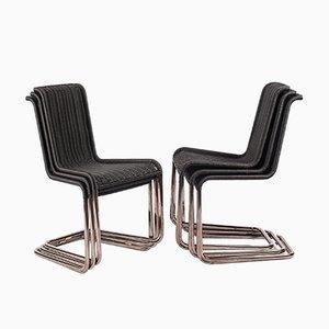 Chaises B25 Kragstuhl par Jean Prouvé pour Tecta, 1960s, Set de 6