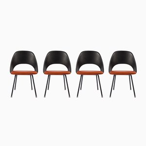 Chaises Series 71 par Eero Saarinen pour Knoll International, 1960s, Set de 4