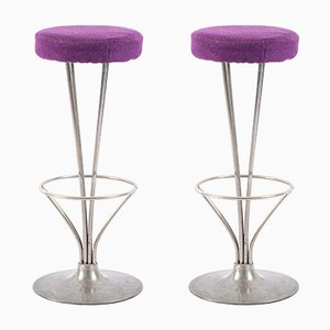 Barstools by Piet Hein for Fritz Hansen, 1960s, Set of 2