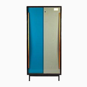 Zweifarbiger Kleiderschrank von Willy van der Meeren für Tupax, 1960er