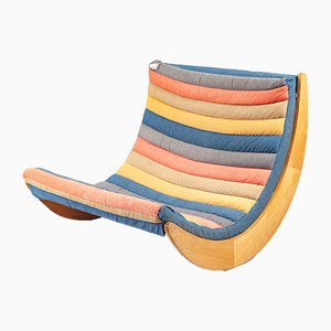 Rocking Chair Relaxer 2 par Verner Panton pour Rosenthal, 1970s