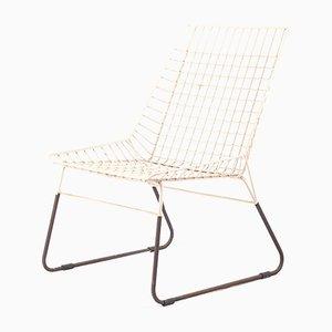 Niederländischer Vintage Maschendraht Stuhl