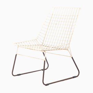Vintage Dutch Wire Mesh Chair